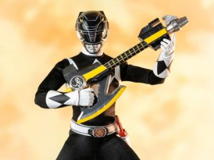 Ranger Preto Power Rangers Mighty Morphin Threezero original