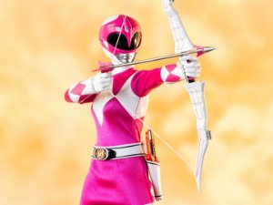 Ranger Rosa Power Rangers Mighty Morphin Threezero original