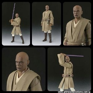 Mace Windu S.H. Figuarts Bandai Star Wars Episode II: Attack of the Clones Original