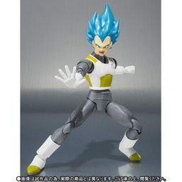 Vegeta Super Sayajin God SS S.H. Figuarts Dragon Ball Super Bandai Original