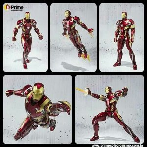 [ENCOMENDA] Iron man Mark 46 S.H. Figuarts Capitão America Civil War Bandai Original