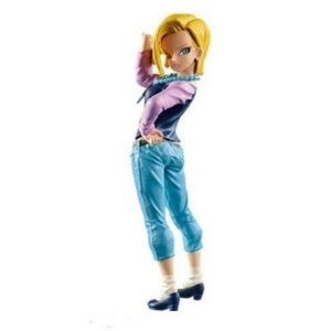 Android 18 Dragon Ball Z Scultures 6 Banpresto Original