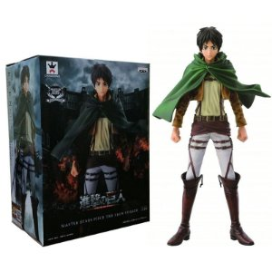 Eren Attack on Titan Master Stars Piece Banpresto Original 25cm