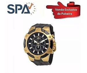 32079724672 Pulseira Do Relógio Invicta 7343 Preta - Borracha
