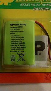 Bateria Telefone GP 3,6v-600maah Universal