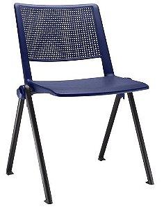 Cadeira Empilhável UP Design Italiano C/ Sistema MxF Lateral para Conexão