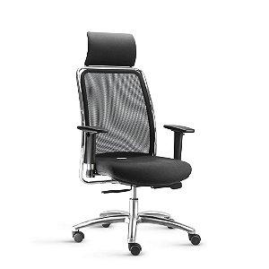 Cadeira Escritório Soul Alta Encosto em Tela *Ajuste de inclinação Sincronizado*