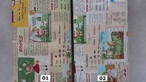 Little Kids ABC. 100% Algodão em Fat Quarter (medida 50 x 110cm)