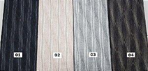 Taupe. Waves. Tecido Japonês 100% Algodão  (25cm x 55cm)