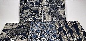 Japonês Tradicional 100% Algodão Encorpado (50cm x 110cm)