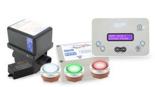 Aquecedor de SPA e Hidromassagem Funções Touch com Iluminação 8000 W