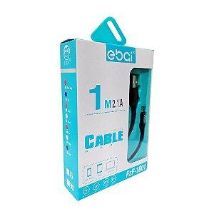 Cabo 1 Metro V8 2.1A - Ebai - Premium