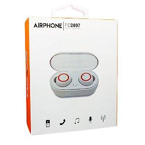 Fone de Ouvido Bluetooth Airphone - Hayom FO2807