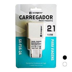 Tomada USB 2.1A - Sumexr