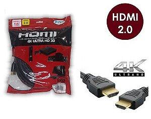 CABO HDMI 10M 2.0 19 PINOS 4K