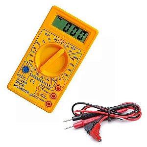 Multímetro Digital com Bateria 9V