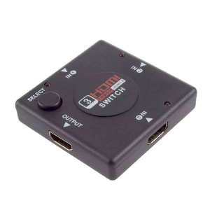 Switch HDMI - 3 Entrada e 1 Saída