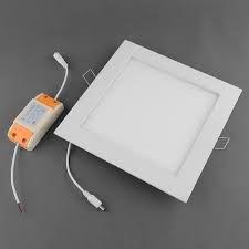 Painel de Led Quadrado Embutir 12 Watts (85 - 265V) BIVOLT