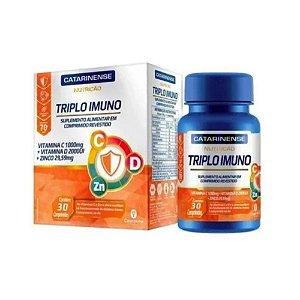 Triplo Imuno CATARINENSE Nutricao 30Cpr