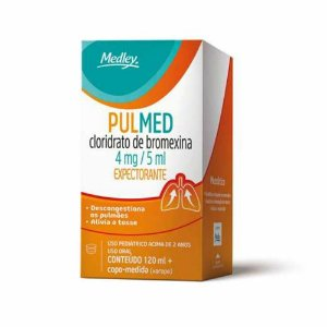 BROMEXINA - PULMED XPE PED 120ML