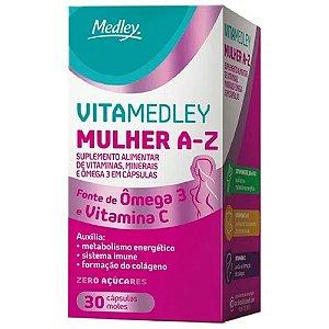 VITA MEDLEY MULHER A-Z 30CAPS MOLES