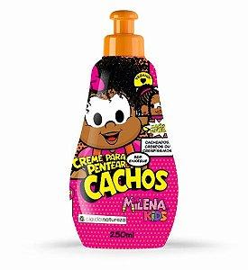 Creme Para Pentear Milena Kids Cachos 250ml