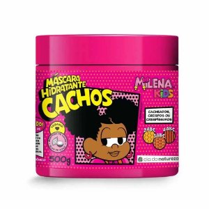 Mascara Hidratante Cachos Milena Kids  500g