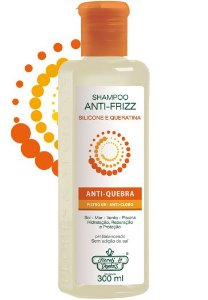 Shampoo Flores e Vegetais 300ml Anti Frizz