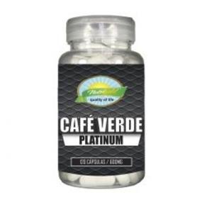 Café Verde Platium Nutrigold 120 caps 600mg