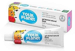 Gel Dental Total Planet Kids Tutti Frutti /Passiflora 50g