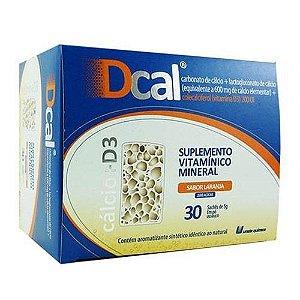 Dcal 600mg Com 30 Sachês (cálcio D)