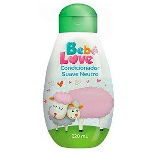 Condicionador Bebe Love Suave Neutro 220ml
