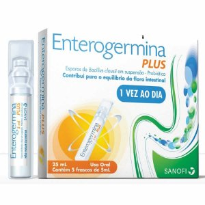 ENTEROGERMINA PLUS 5 frascos de 5ml