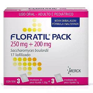 FLORATIL PACK Pediatrico com 6 sachês - Merck