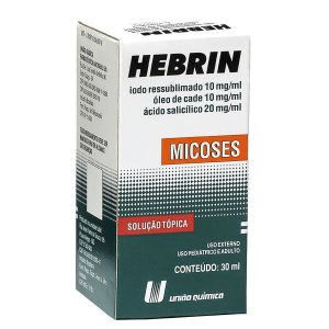 HEBRIN 30ML UNIAO QUIMICA