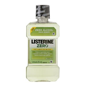Listerine 250ml Zero menta verde