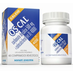 OSCAL D 400MG 60CPR