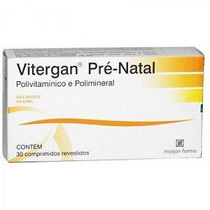 VITERGAN PRE-NATAL 30CPR