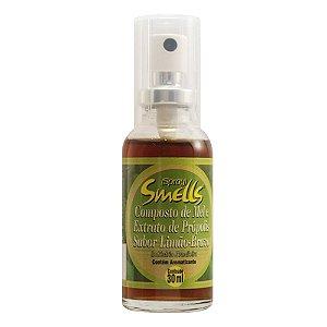 Spray Mel Composto Própolis Sabor Limao-Bravo 30ml Smells