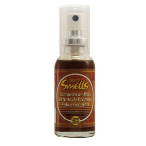 Spray Smells Composto Mel e Extrato Própolis e Gengibre 30ml