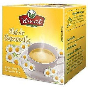 VEMAT CHÁ DE CAMOMILA 10 SACHES