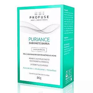 Profuse Puriance Sabonete Barra Limpeza Facial 80g - Ache