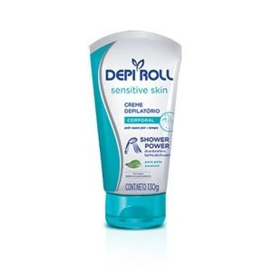 CR DEPILATORIO CORPO DEPI ROLL SHOWER POWER 130GR SKIN