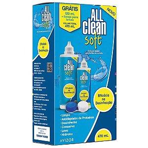 All Clean Soft 470ml Solução para Lente de Contato EMS