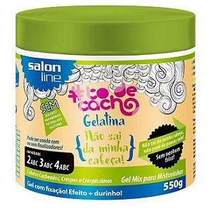Gelatina Tô de Cachos Não Sai da Minha Cab Salon Line 550g