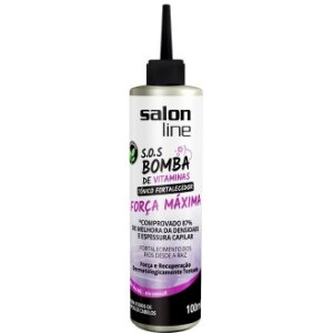 Tonico Salon Line SOS Bomba Forca Maxima 100ml