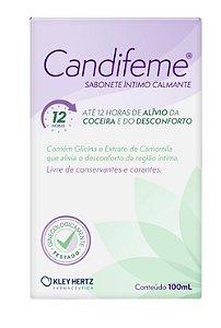 Candifeme Sabonete Intimo Calmante 100ml KLEY HERTZ