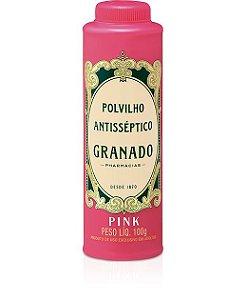 Polvilho Antisseptico Granado 100gr Pink