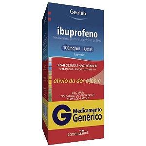 IBUPROFENO GTS 100MG/ML 20ML (GEOLAB)