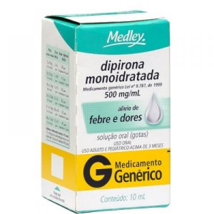 DIPIRONA 10ML GTS (medley)